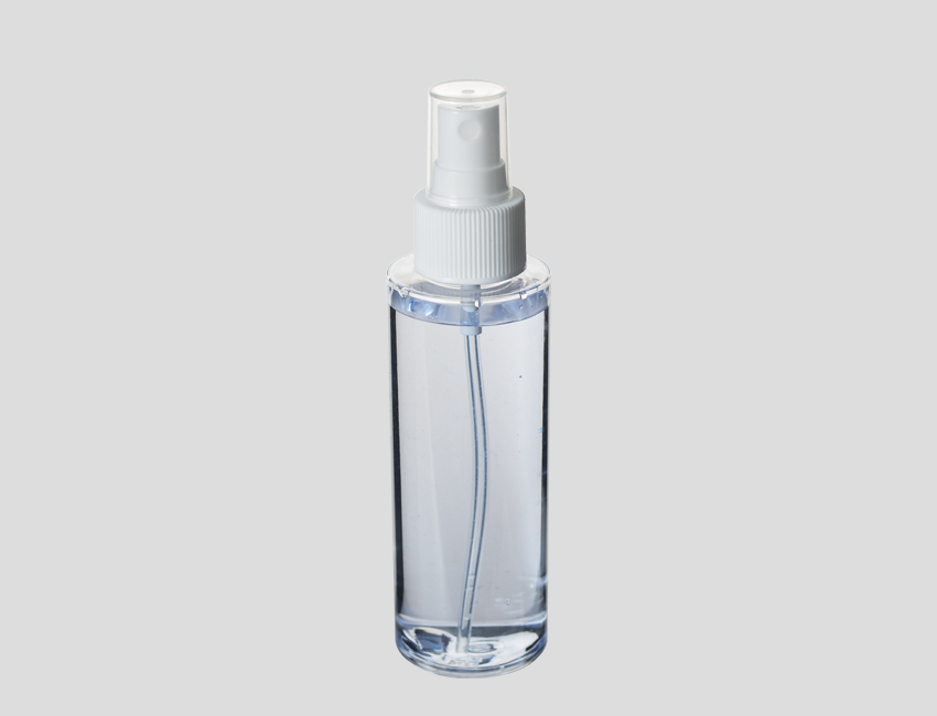 Clear Spray PET Bottles