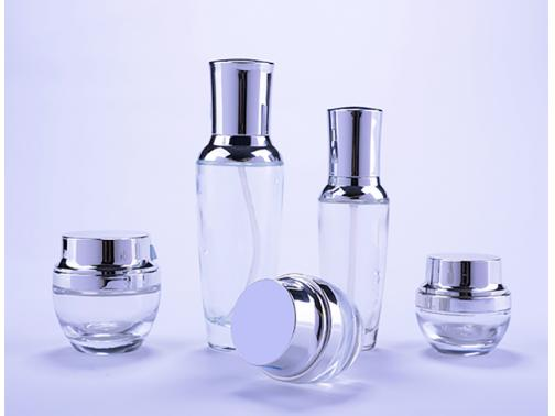 Crystal Glass Container