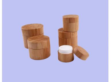 Bamboo Cream Jar Manufacturer