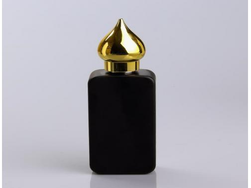 Perfume Bottle with golden Cap