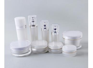 Fancy Acrylic Cosmetic Bottles and Jar