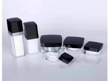 Square Acrylic Cosmetic Jar