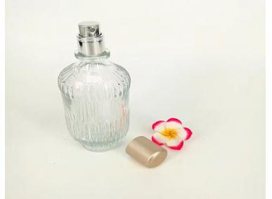 Empty Glass Spray Perfume Bottles