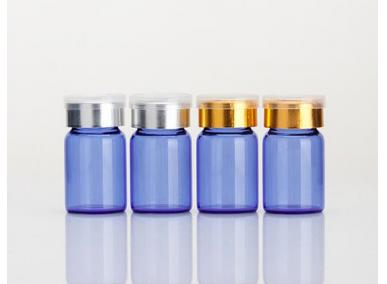 Round Glass Cosmetic Botles