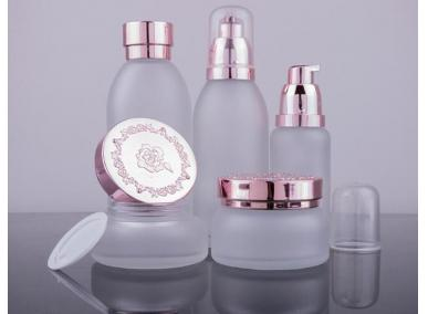 Cosmetic Glass Packing Bottles