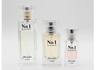 French Glass Perfume Bottles