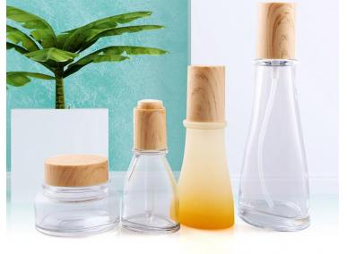 cosmetic bottles & jars
