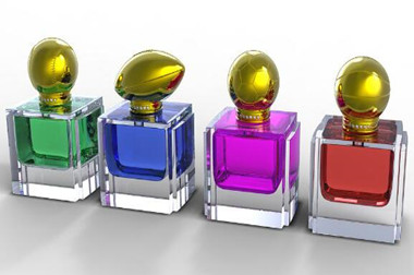 The story of the perfume bottles